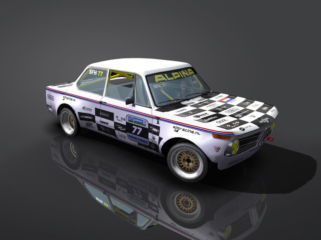 Bmw 2002 Tii Race Car >> Presenting the BMW 2002 Tii | Simracing For Holland